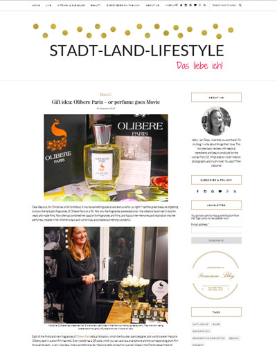 Olibere in Stadt-Land-Lifestyle Germany